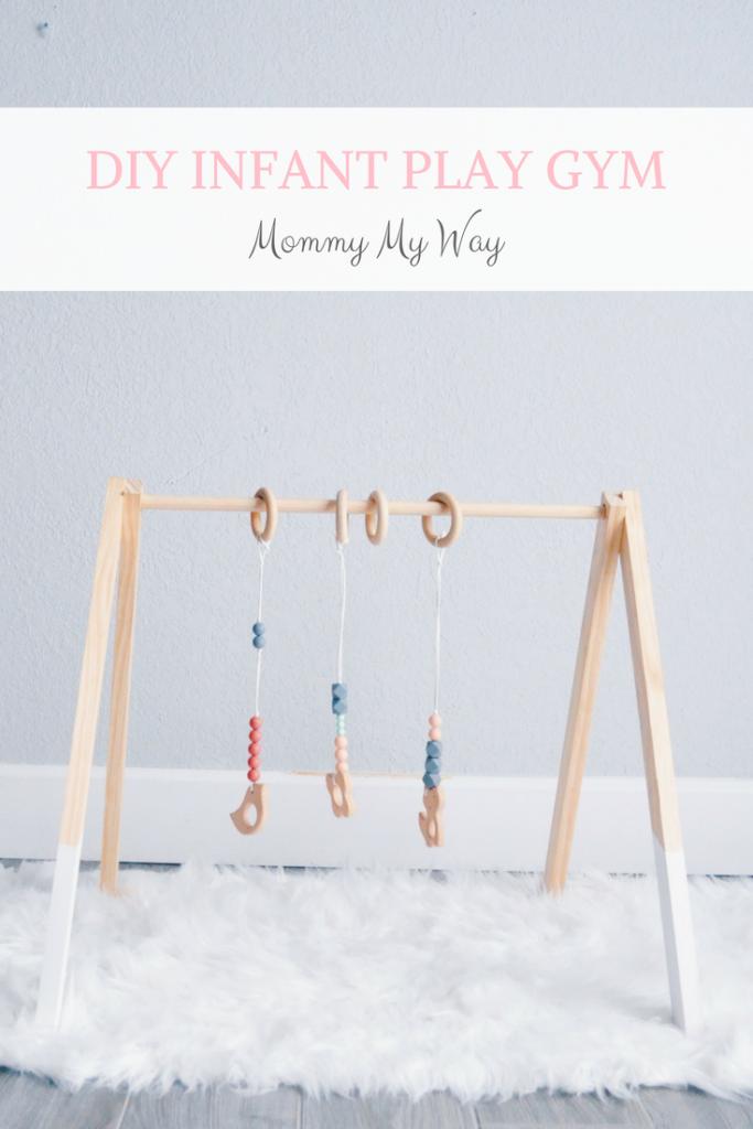 DIY Baby Play Gym – Minimalist Design images
