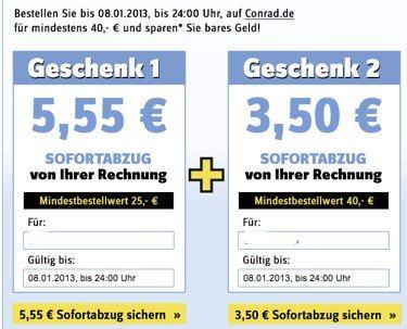 10 55 Conrad Gutschein Mbw 50 Und Weitere Codes Update