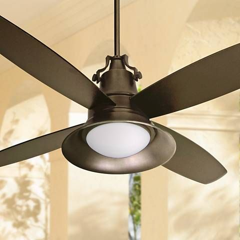 52 Craftmade Union Oiled Bronze Wet Location Ceiling Fan T4048