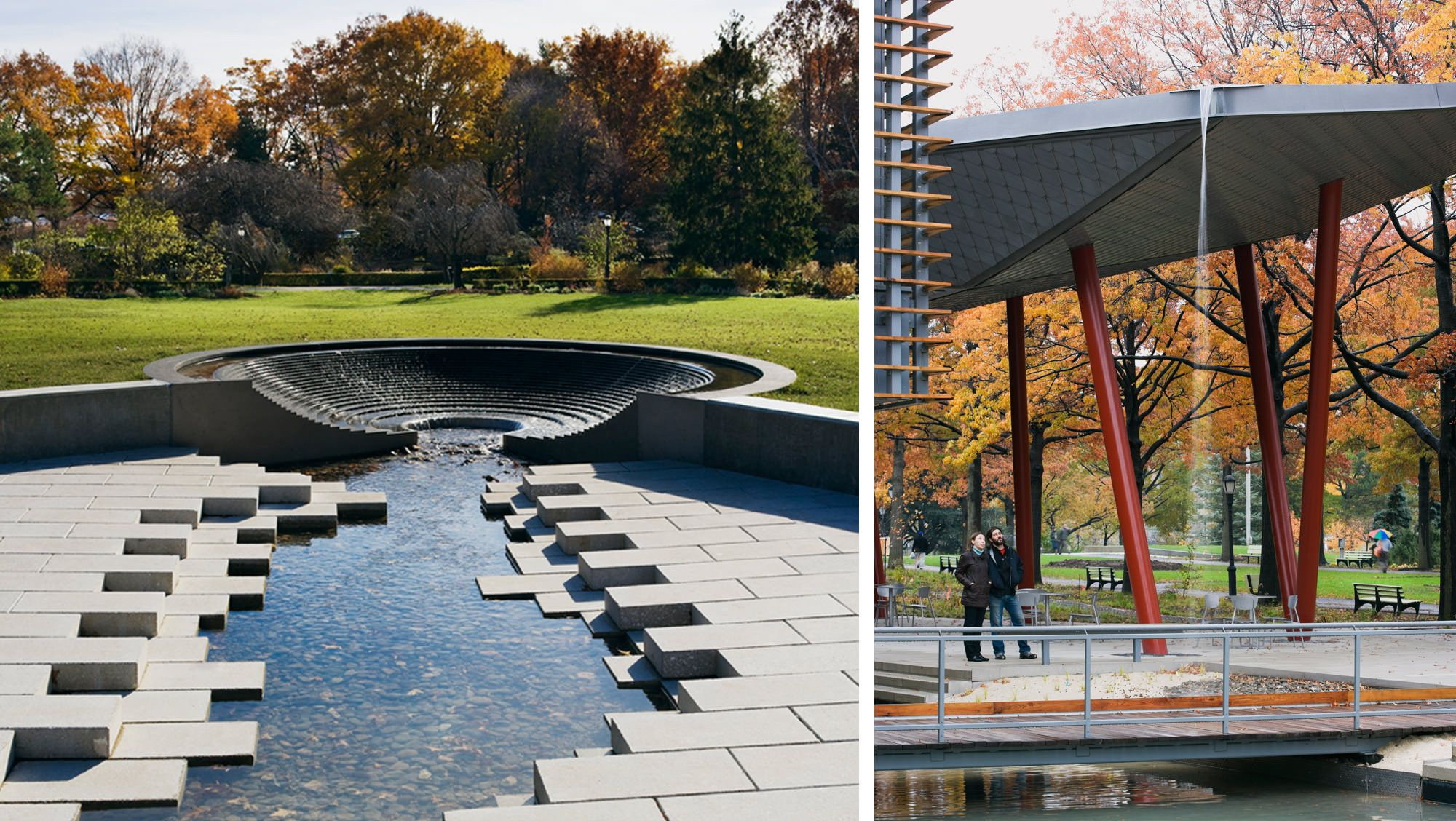 bksk architects queens botanical garden visitor administration