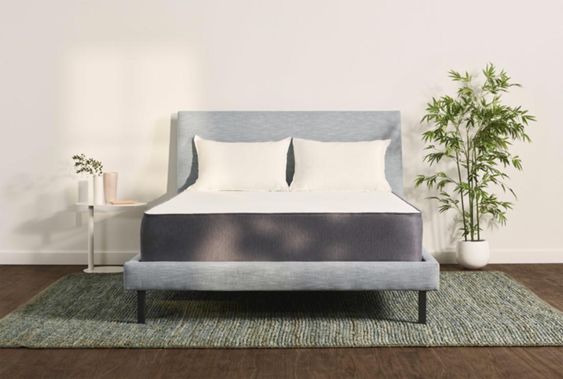 The Casper Online mattress, Mattress, Upholstered bed frame