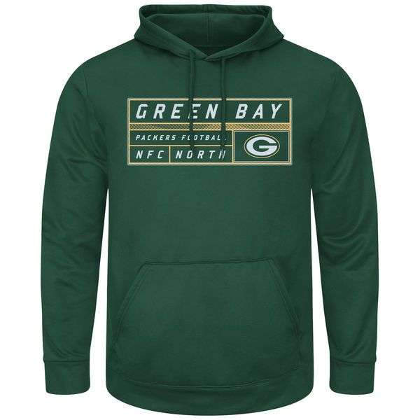 Green Bay Packers Majestic Startling Success Pullover Hoodie - Green ... d6e3a558dd0