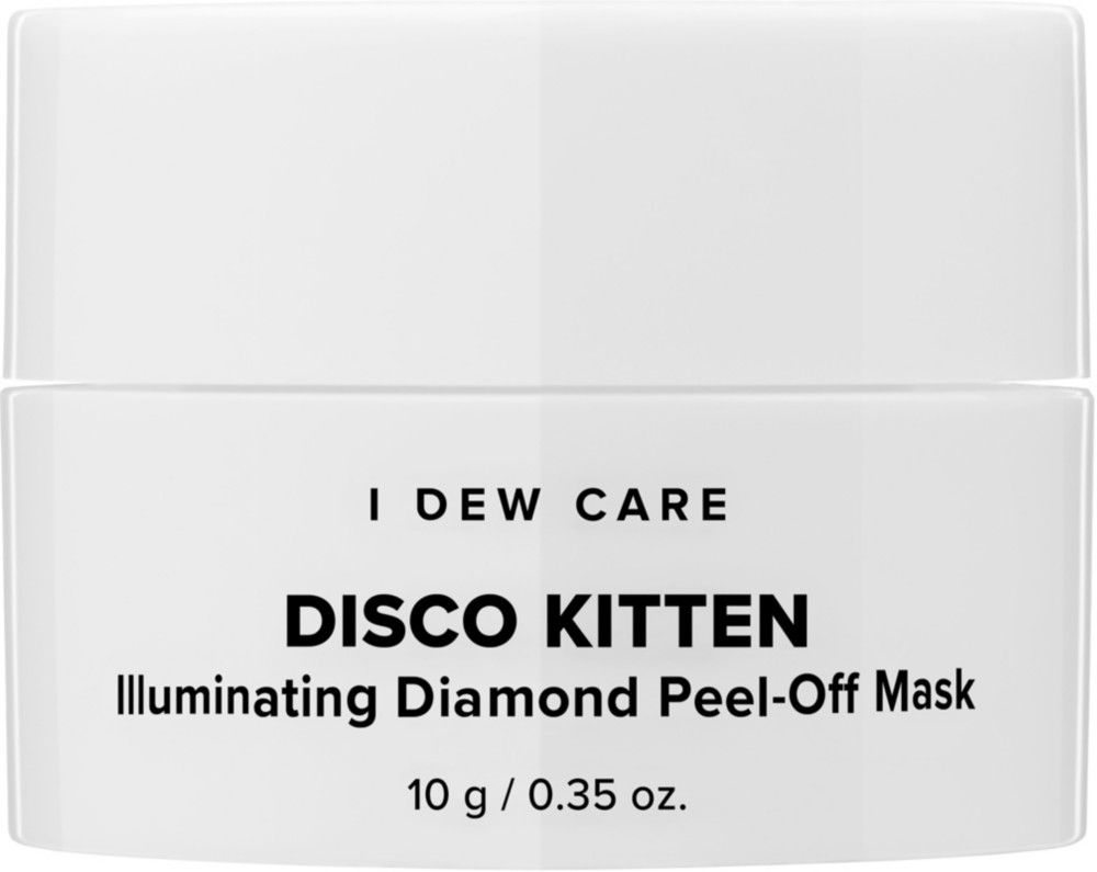 I Dew Care Travel Size Disco Kitten Illuminating Diamond Peel Off Mask In 2020 With Images Peel Off Mask