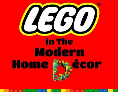 """Check out new work on my @Behance portfolio: """"How Does LEGO Inspire The Modern Interior Design?"""" http://on.be.net/1KTHYo9"""