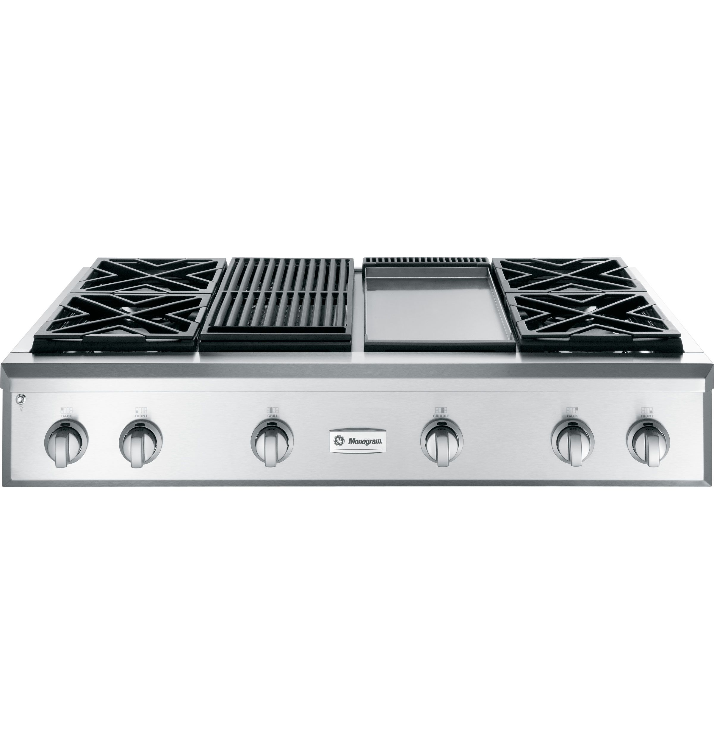 I Like The Grates Better On This One Images Of Ge Monogram Zgu484ngpss 48 Professional Gas Cooktop With 4 Burners Gas Cooktop Monogram Appliances Cooktop