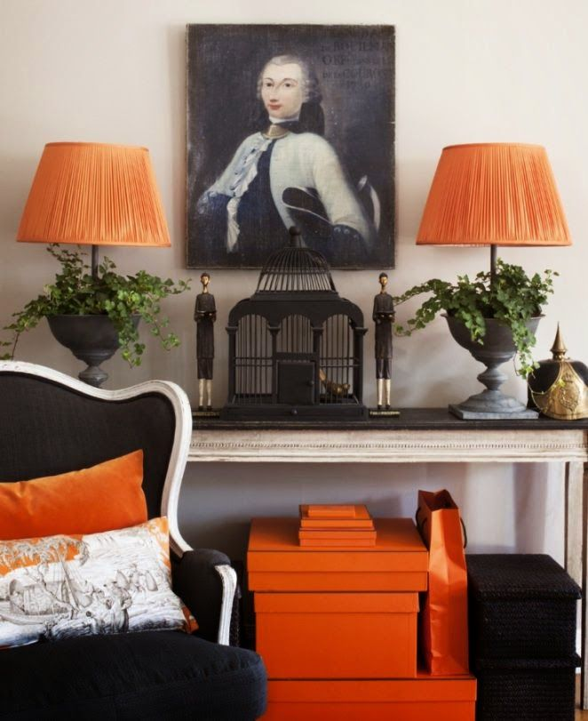 Decorate By Color Orange ...............