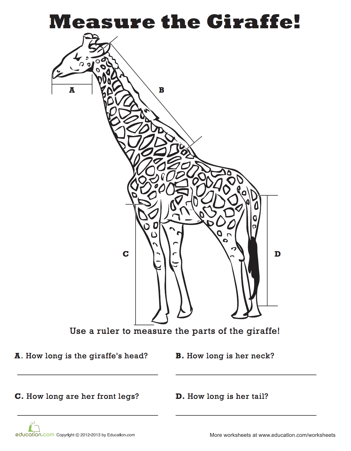 Measure The Giraffe
