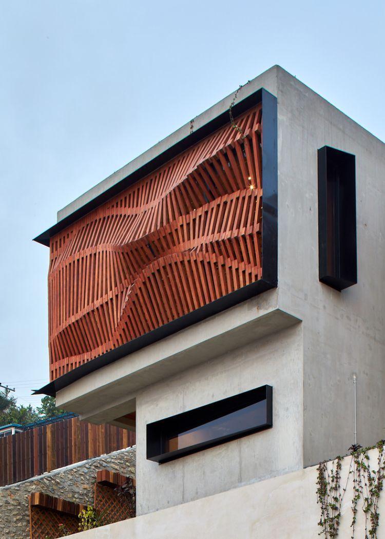 Anspruchsvoll Hausfassade Modern Das Beste Von Design Verkleidung Ortbedon Fenster Minimalistisch