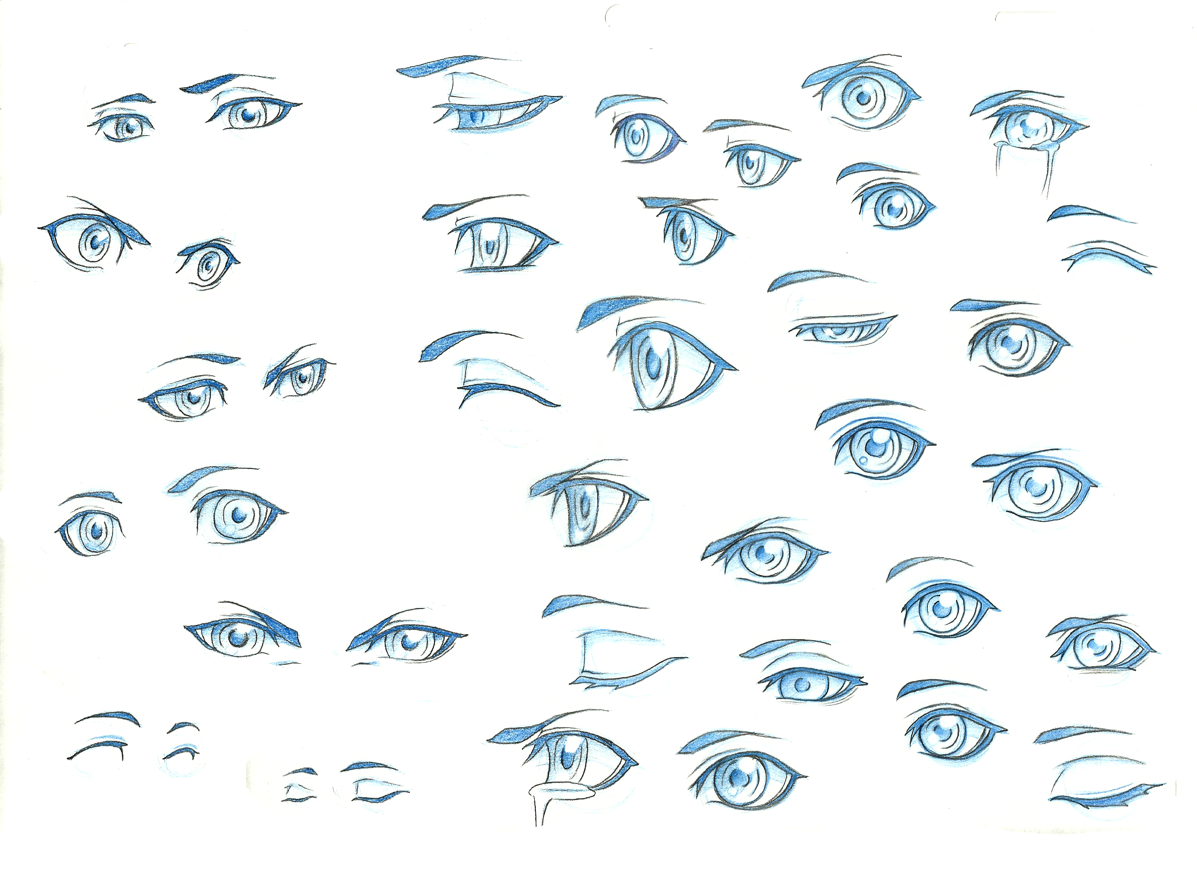 Eye Ref 1 By Theshionproject On Deviantart Anime Eyes Manga Eyes Eye Drawing Tutorials
