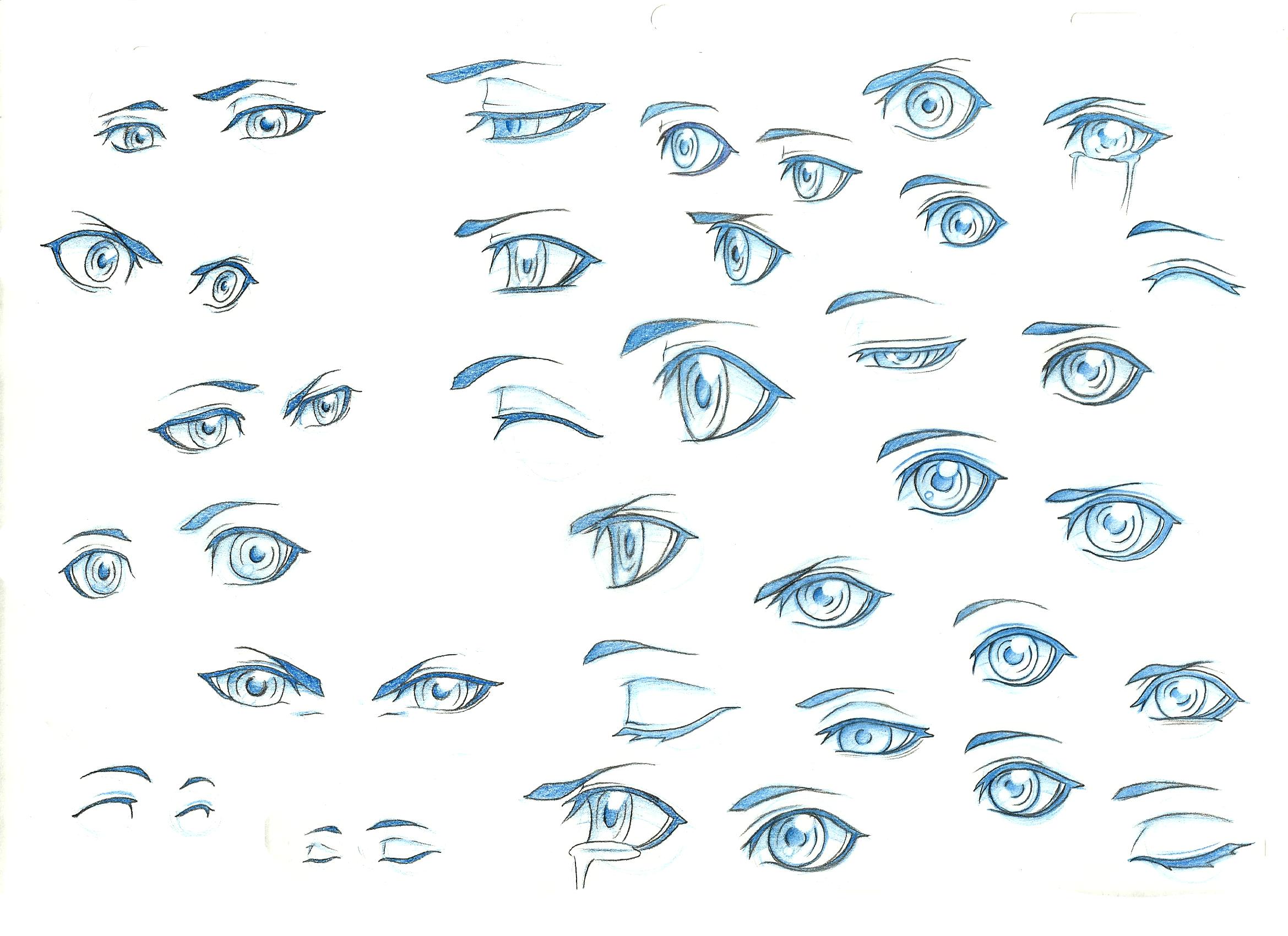 Eye Ref 1 by on deviantART