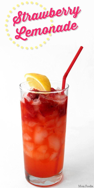 Strawberry Lemonade Recipe   Teas..Lemonades..Punch.. non-alchi ...