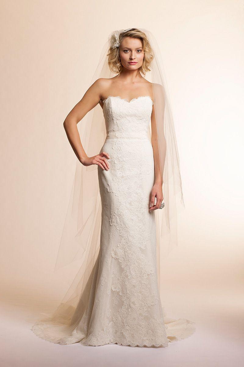 Amy Kuschel San Francisco: Rosemary lace gown. | Wedding | Pinterest