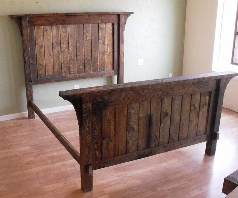 Authentic Solid Wood Handcrafted Rustic Bed Sets. These ...