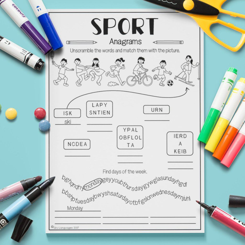 Sport Anagrams