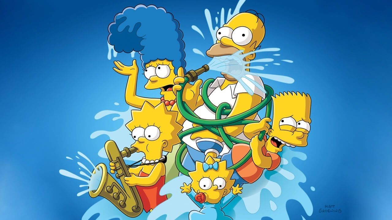 Is The Simpsons On Netflix What S On Netflix Homer Simpson The Simpsons Maggie Simpson