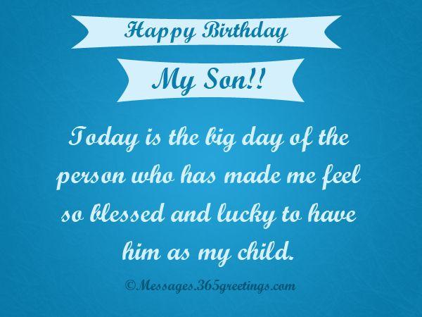 Birthday Wishes For Son Birthday Wishes For Son Birthday