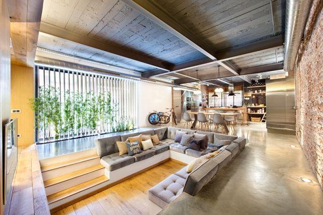 Idee für Haus renovieren moderne einrichtung backsteinwand Home