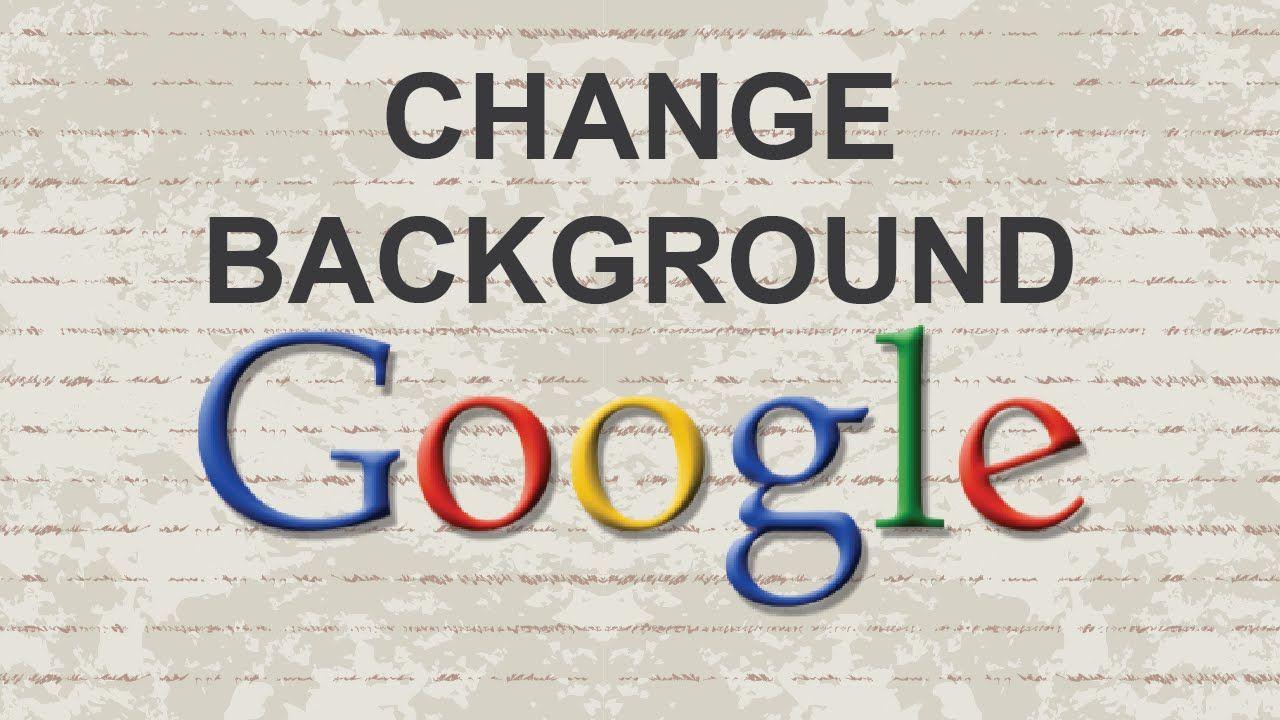 How to change Google background #background #google #theme