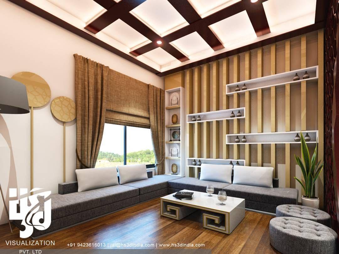 Interiordesign Livingroom 3dvisualization Archdaily