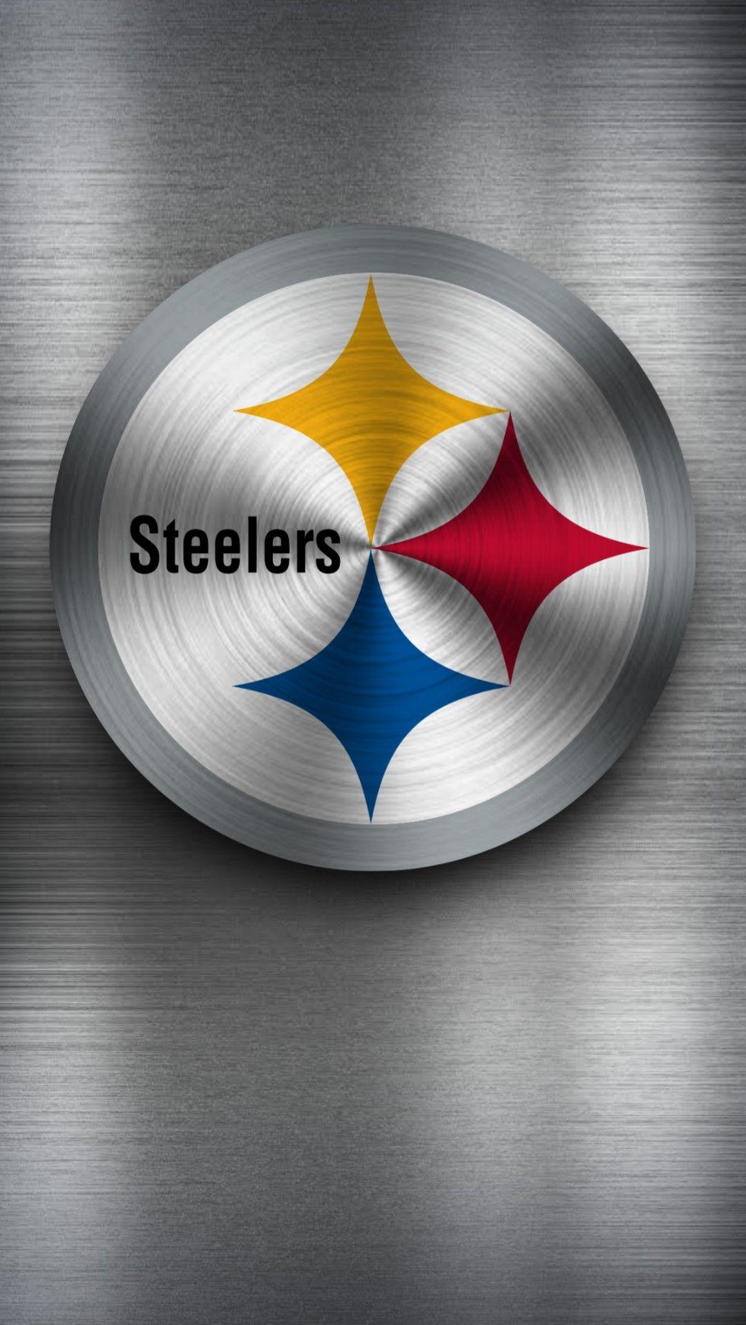 Pittsburgh Steelers Metal Wallpaper Steelers Team Logo
