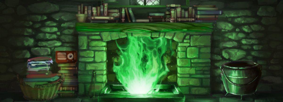 Pottermore Floo Powder Kamin Feuer Harry Potter