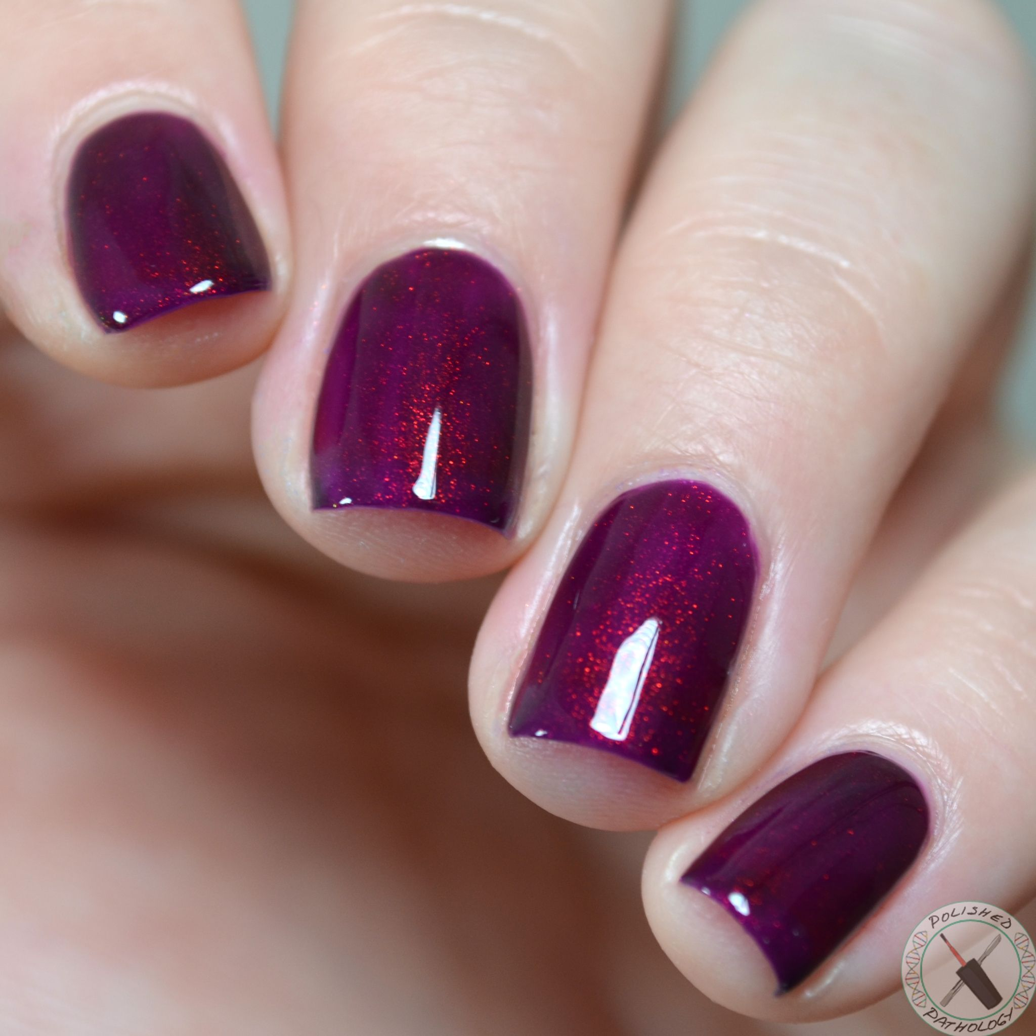 KBShimmer So Jelly - Deep fuchsia jelly with color shifting shimmer ...