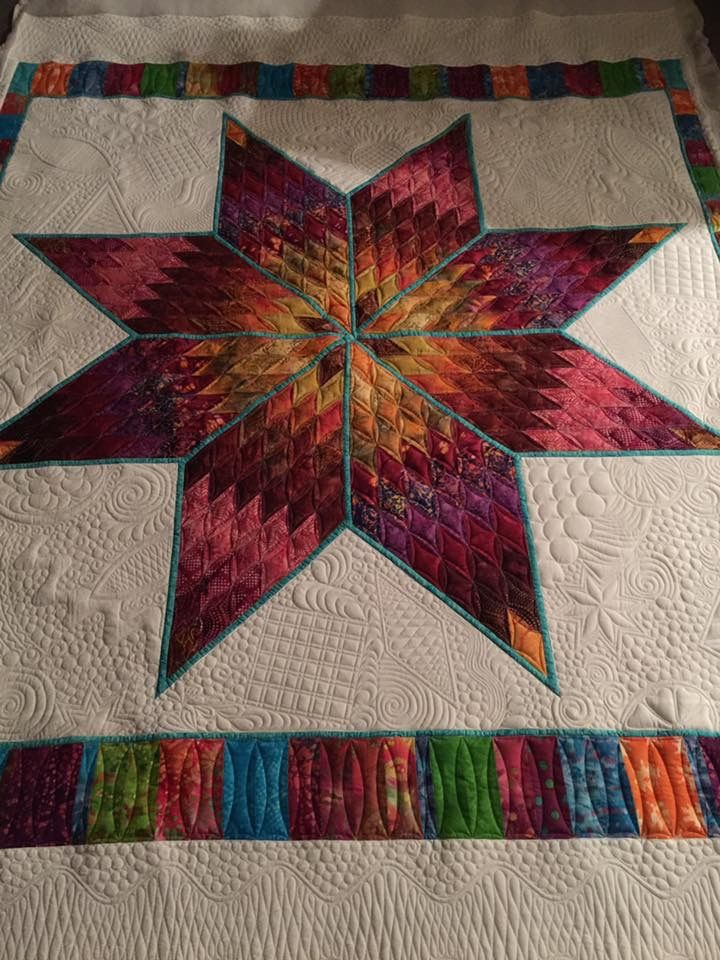 Pin by Susan Prickett on Quilting Designs Pinterest Lone star quilt, Star quilts and Paper ...