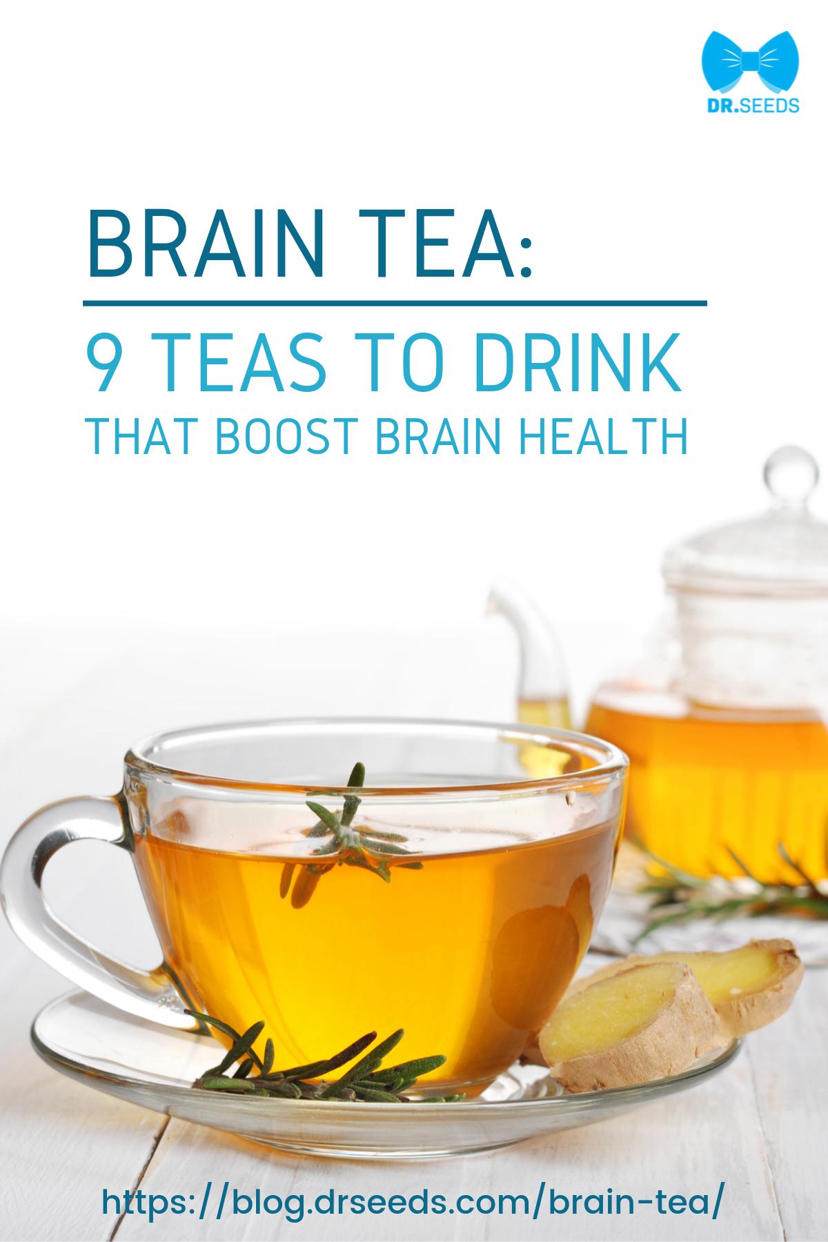 Photo of BRAIN TEA: 9 Teas To Drink That Boost Brain Health   Dr. Seeds