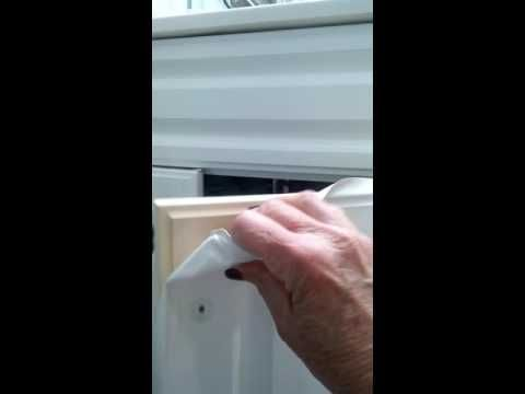 Refinishing vinyl or thermafoil cabinets - YouTube | Diy ...