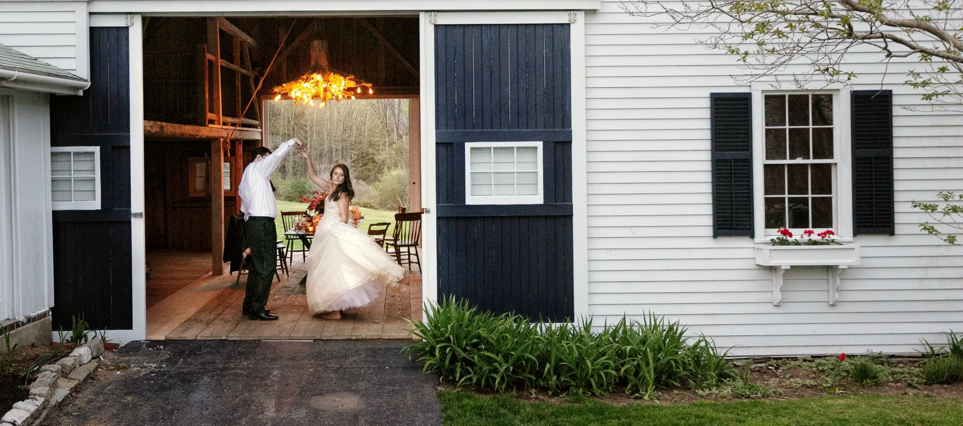 Maine Barn Wedding Harpswell Venue