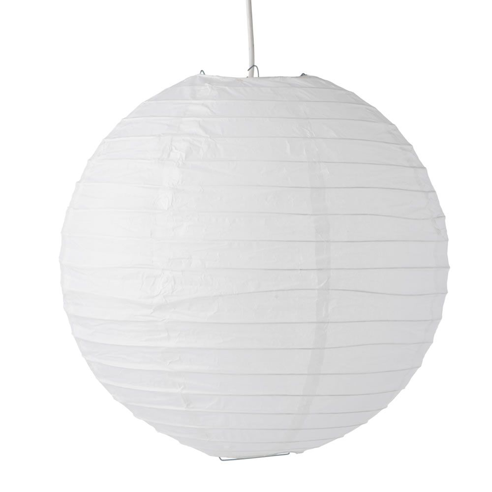 Functional paper shade white 12 to 14in jungle room room and house functional paper shade white 12 to 14in mozeypictures Gallery