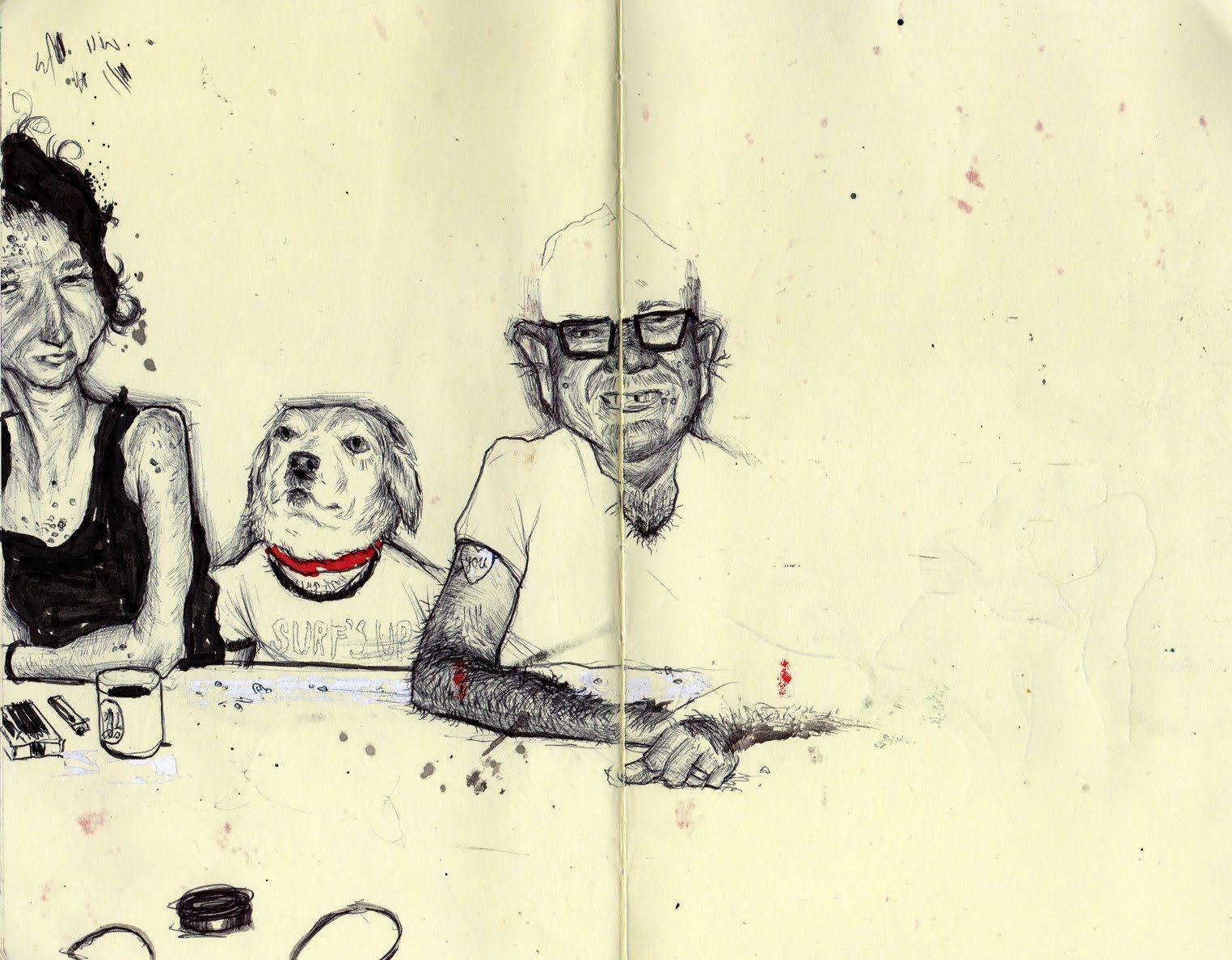 Libretas De Dibujo De Un Artista Freelance: Pin De Lady Orlando En Moleskine