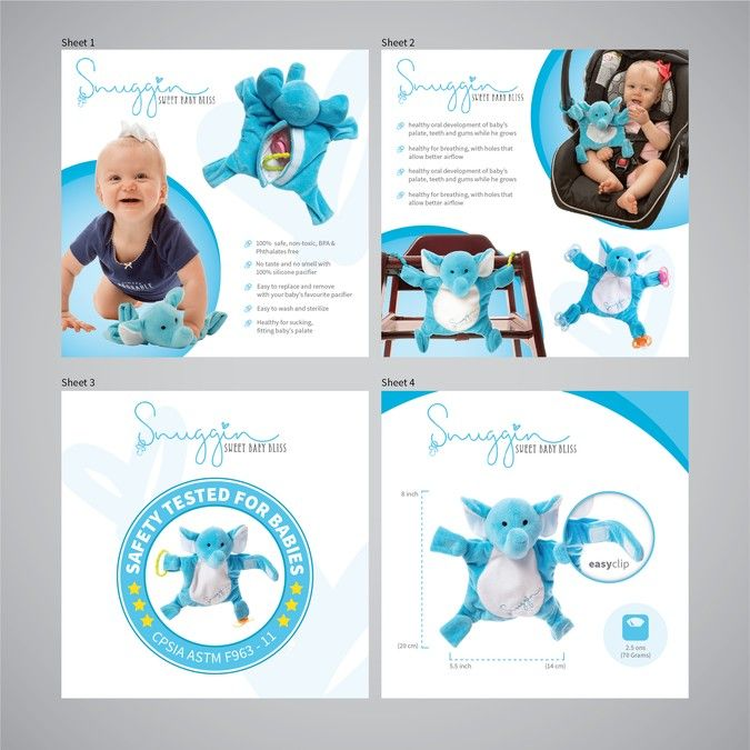 Create Product Images a Baby Product that Makes Parents even - product brochures