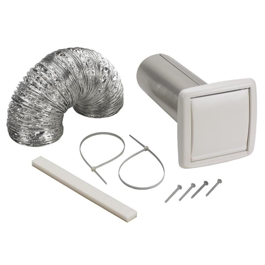 Broan Polypropylene Wall Vent Kit Bathroom Exhaust Fan Bathroom Exhaust