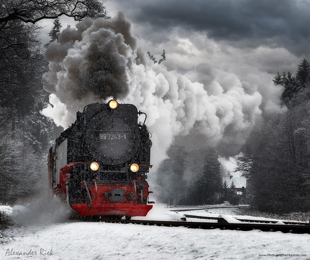 Winter Express By Alexander Riek On 500px (With Images