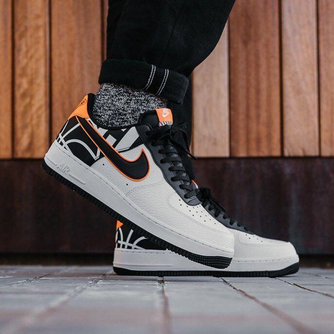 41 Herren Nike Air Force 1 '07 LV8 Weiß 823511 104