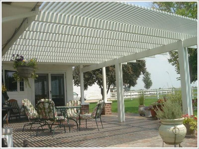 Back Patio Decorating Ideas With Shade Covering Backyard Shade