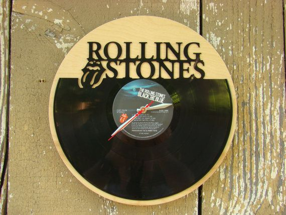 Repurposed recycled Vinyl Record  Rolling Stones  by ReSpinIt, $45.00