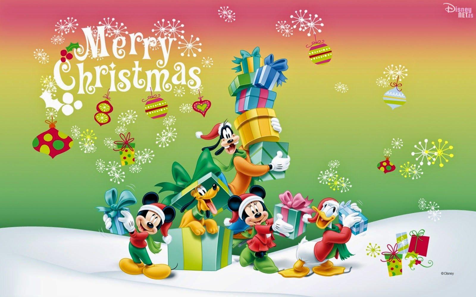 Felicitaciones De Navidad De Disney.Fondos De Disney En Navidad Navidad Disney Navidad