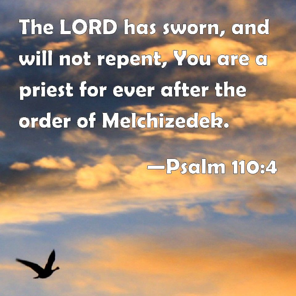 Psalm 110:4