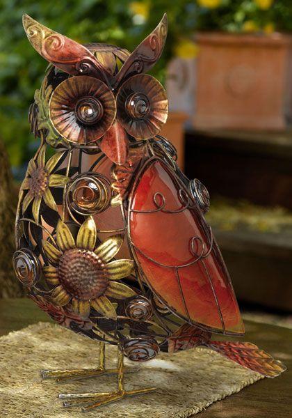 Sunflower Gl Owl Decor Garden Fun Just Absolutely Gorgeous