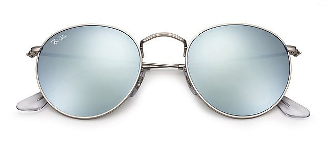 Ray-Ban ROUND FLASH LENSES Argent sunglasses      Accessories ... 78c8ccace778