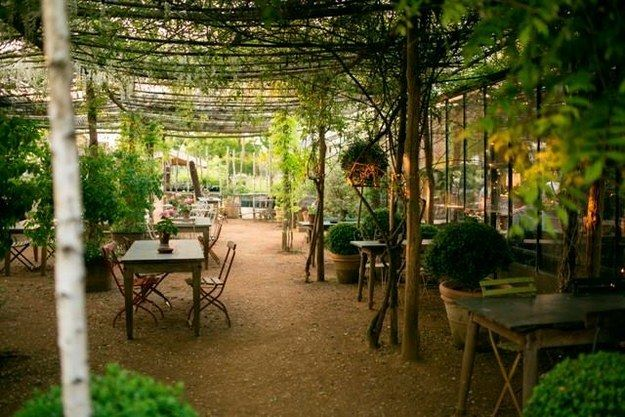Where Is Your Favourite Tucked Away Spot In London Charming Garden Amazing Gardens Garden Cafe