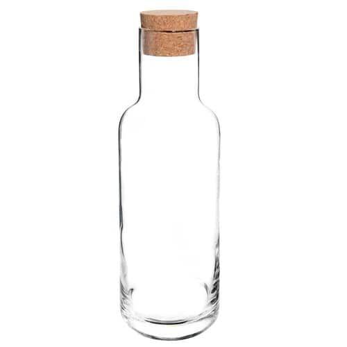 caraffa con tappo in vetro accessori casa pinterest carafe decanter and glass. Black Bedroom Furniture Sets. Home Design Ideas