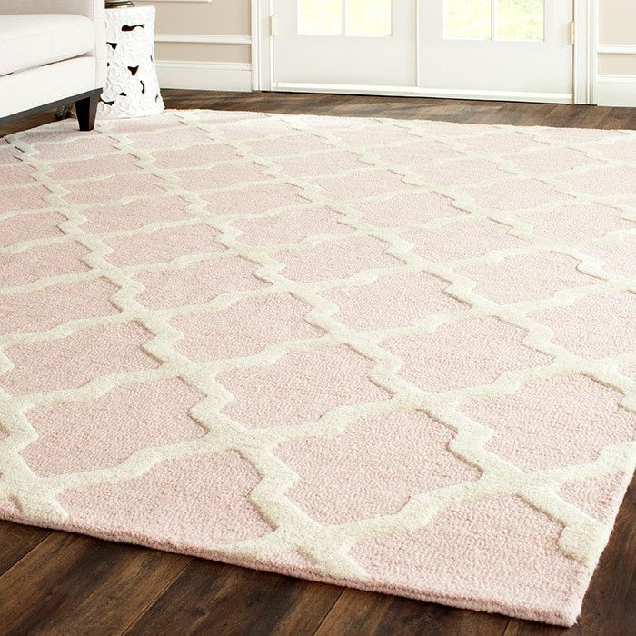 Blush Pink Rug Baby Room Decor Rugs Nursery