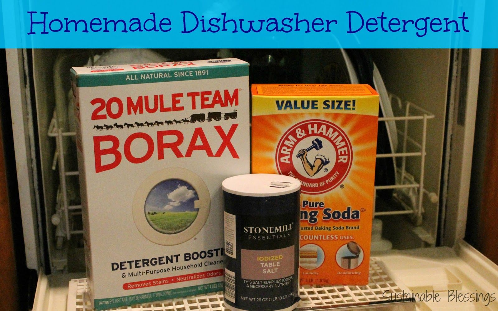 homemade dishwasher cleaner. Sustainable Blessings: Homemade Dishwasher Detergent \u0026 Rinse Aid | Clean Living - Whole Health Pinterest Detergent, Dishwashers And Cleaner