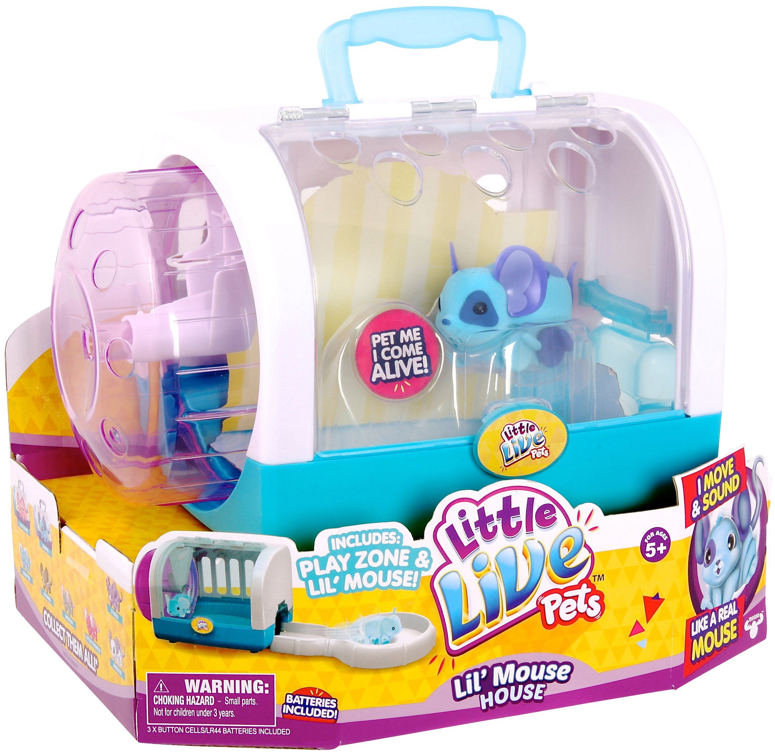 Little Live Pets Lil Mouse House Snippy Pet Mice Cool Toys