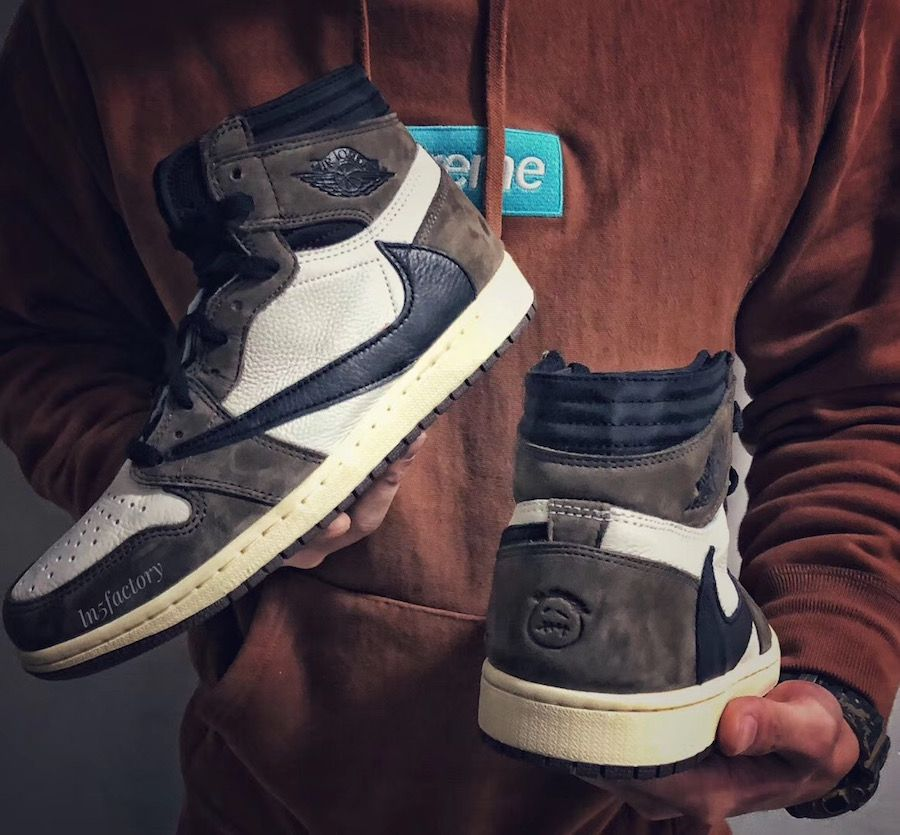 Travis Scott Air Jordan 1 CD4487100 Release Date Air
