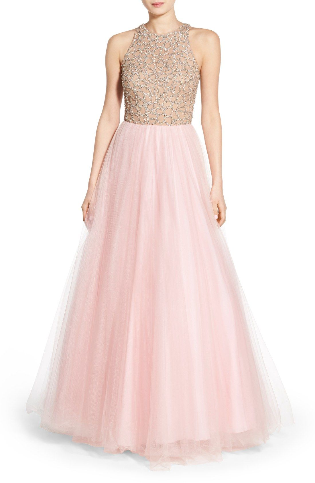 Glamour by Terani Couture Embellished Tulle Ballgown | spinning like ...