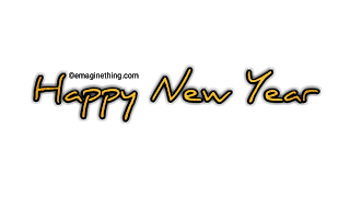 Happy New Year Text Png 27